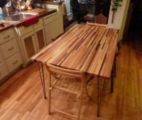 DIY butcher block dining table design   Home Interiors