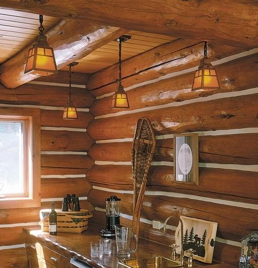 Ceiling rustic bathroom lighting design Home Interiors - rustic bathroom lighting ideas