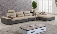Chic Sense with Leather Living Room Furniture Sets | Home ...