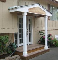 Roof cover and entry door - by a1Jim | HomeRefurbers.com ...