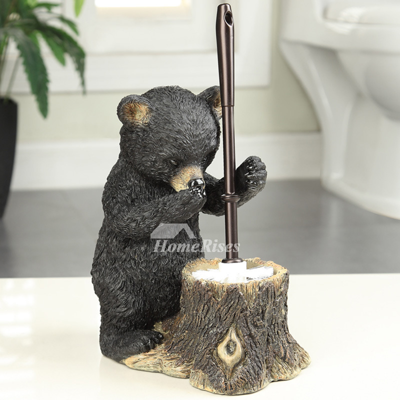 Kitchen Pendant Lighting Height Decorative Toilet Brush Holder Bear Shaped Black Stand