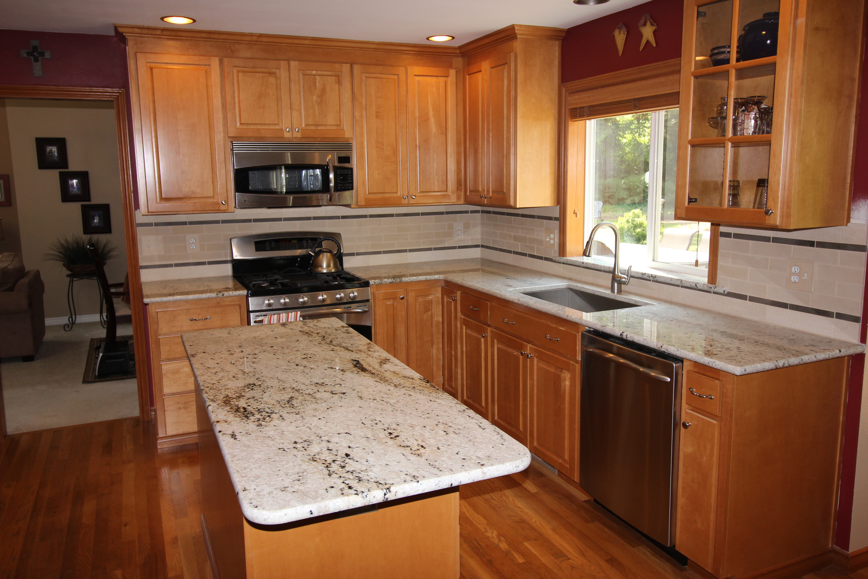 Granite Countertops Everett Wa Snohomish Kitchen Project Home Run Solutions