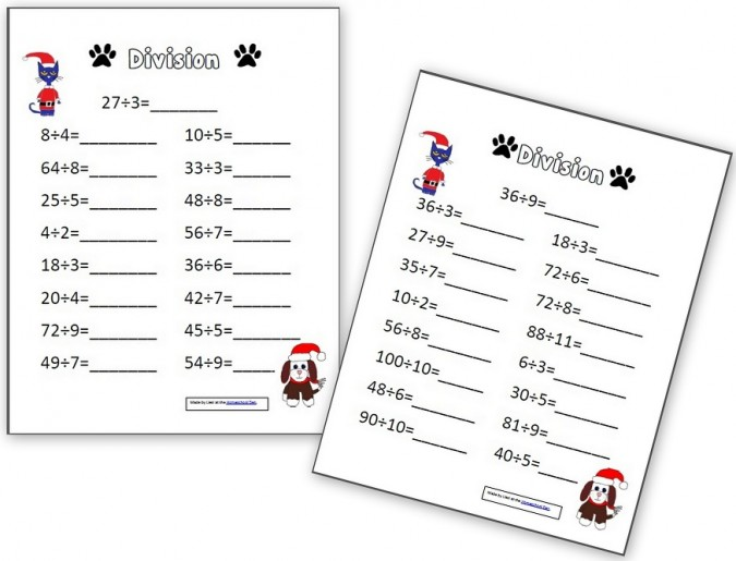 Pete the Cat Multiplication and Division Pages - Homeschool Den - multiplication and division worksheet