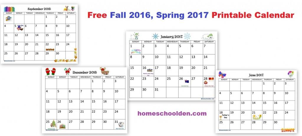 New School Calendar Fall 2016 Krqe Albuquerque News Local Weather New Mexico News Homeschool Planner – Free Fall 2016 Spring 2017 Calendar