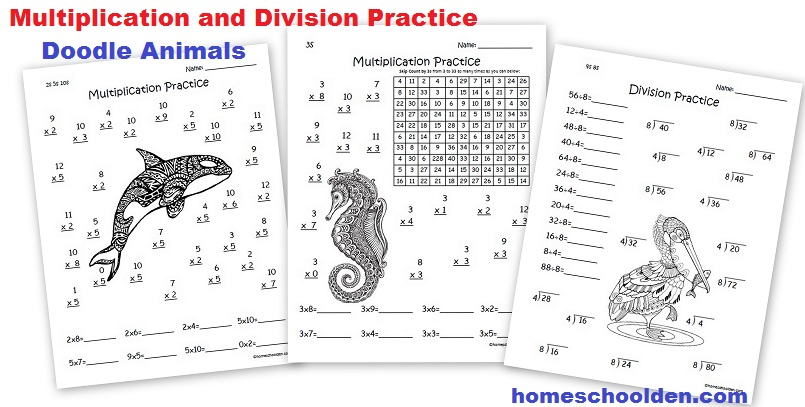 Multiplication And Division Worksheet Division Worksheets Pdf - multiplication and division worksheet