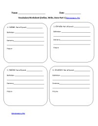 7th Grade  7th Grade Spelling Words Worksheets ...
