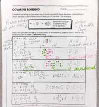 Covalent Bonding Worksheet | Homeschooldressage.com