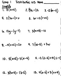 Evaluating Algebraic Expressions Worksheets ...