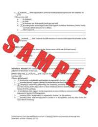 Florida Child Support Guidelines Worksheet