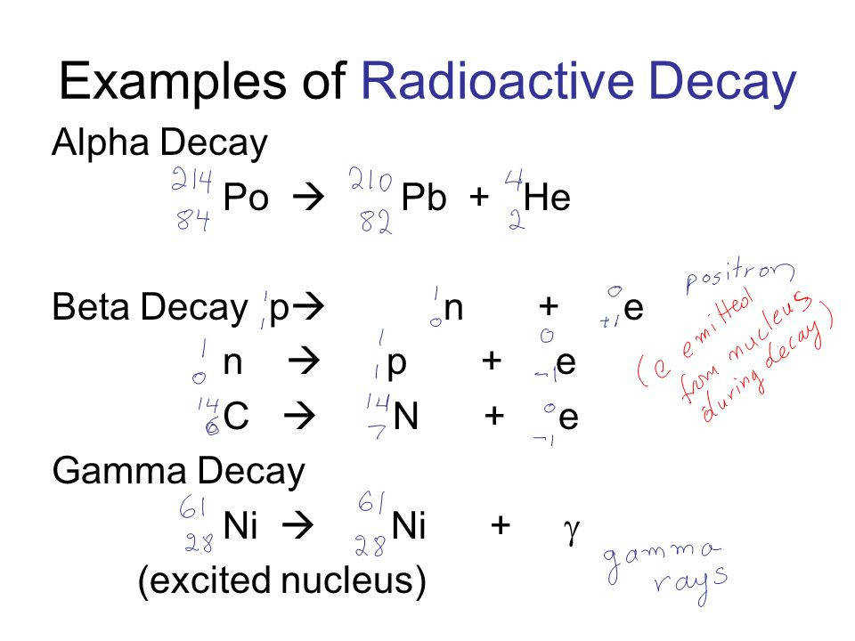 Nuclear Decay Ip Worksheet