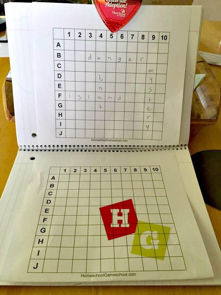 Spelling Battleship FREE GAME DOWNLOAD Homeschool Gameschool