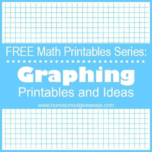 FREE Math Printables Series Graphing Printables and Ideas