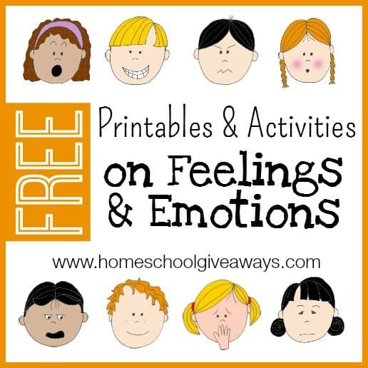 FREE Character Emotions Chart - Homeschool Giveaways