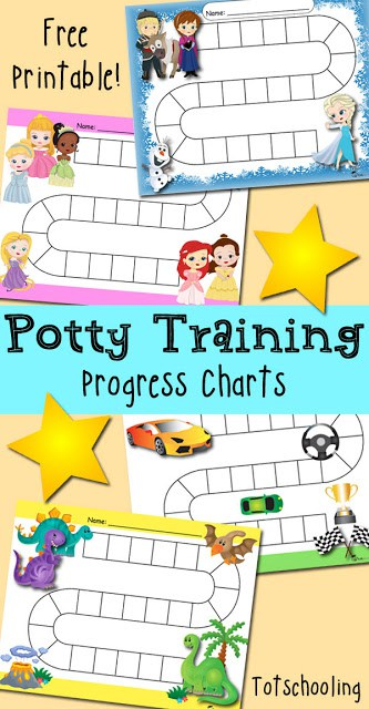 FREE Printable Potty Training Charts - Homeschool Giveaways