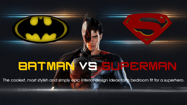Batman vs. Superman: Battle of the Bedrooms