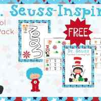 Free Dr Seuss Preschool Printable