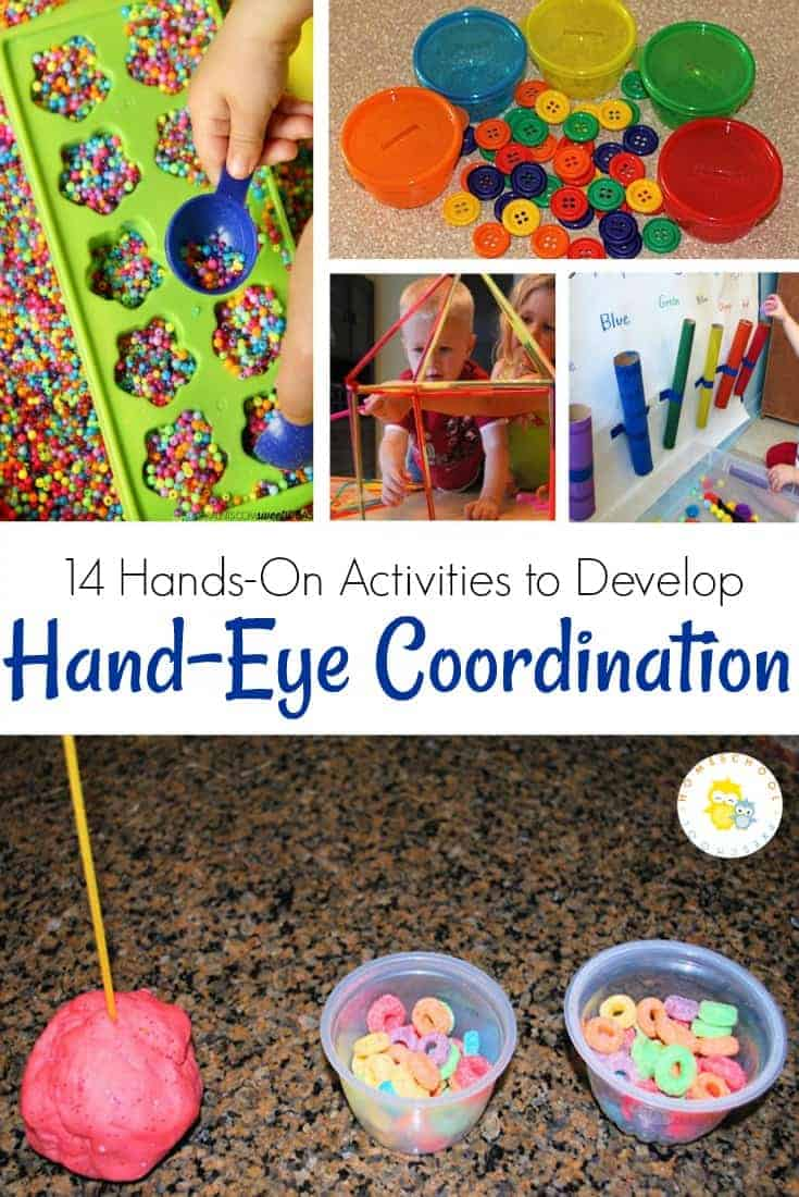 hand eye coordination activities for toddlers