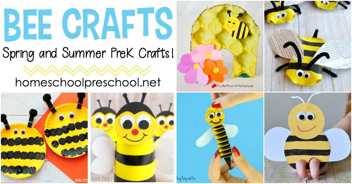 Bee Paper Hand Puppet Template - Easy Peasy And Fun masterlist