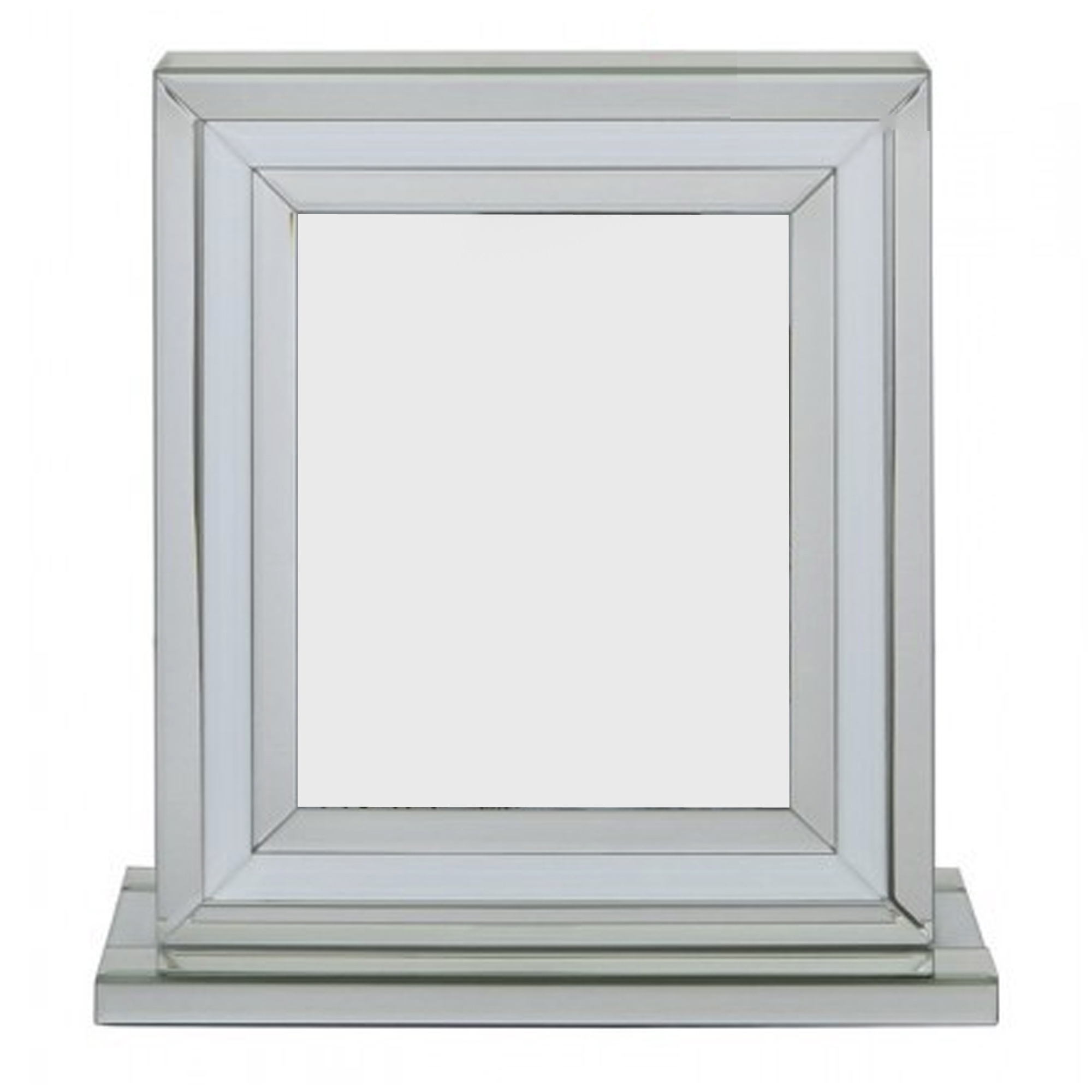 Large Frame Picture Alghero White Large Mirrored Photo Frame