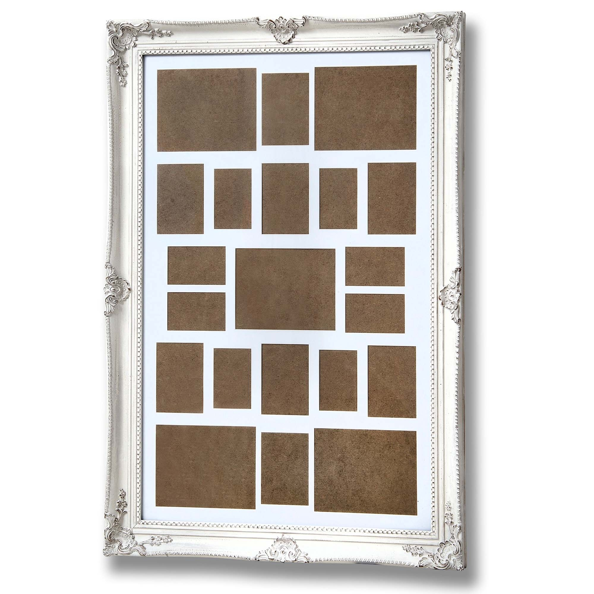 Large Frame Picture Large Antique White Ornate Multi Photo Frame