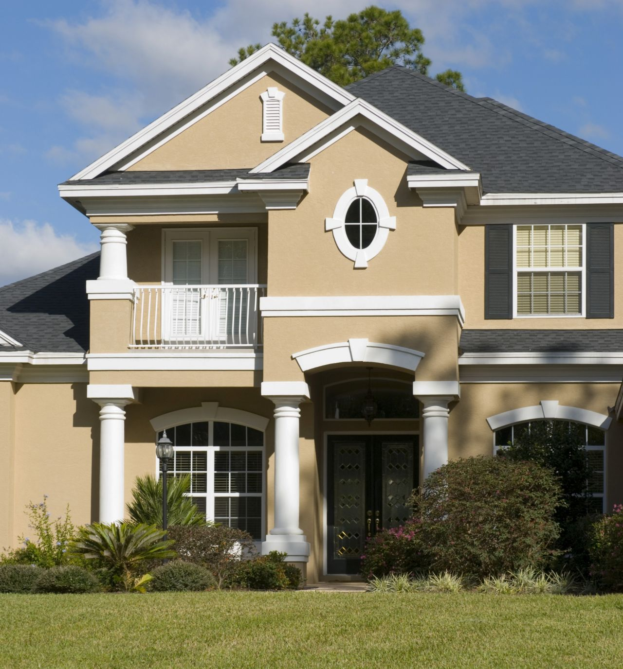 Wall Colour Of House Exterior Paint Schemes And Consider Your Surroundings