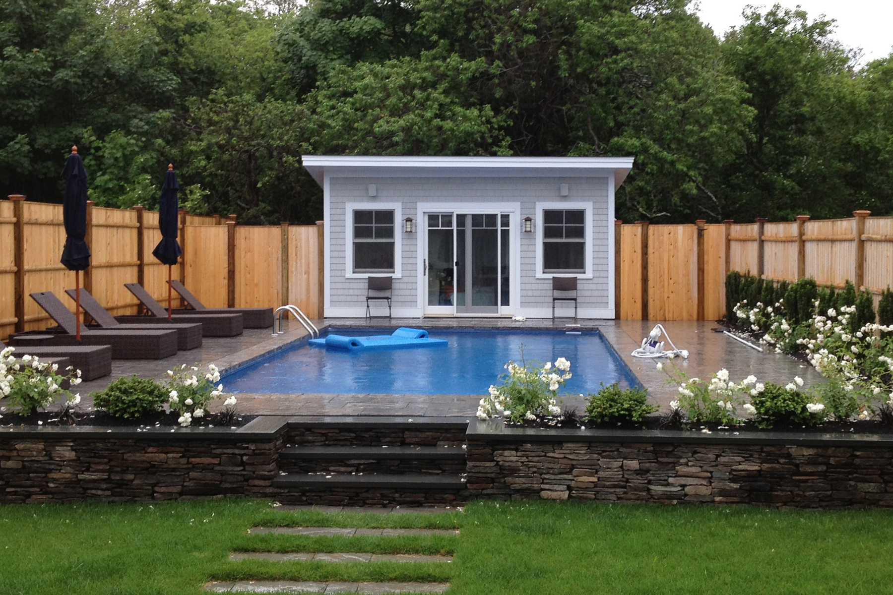 Pool House Plans Small Swimming Pool Design For Your Lovely House Homesfeed