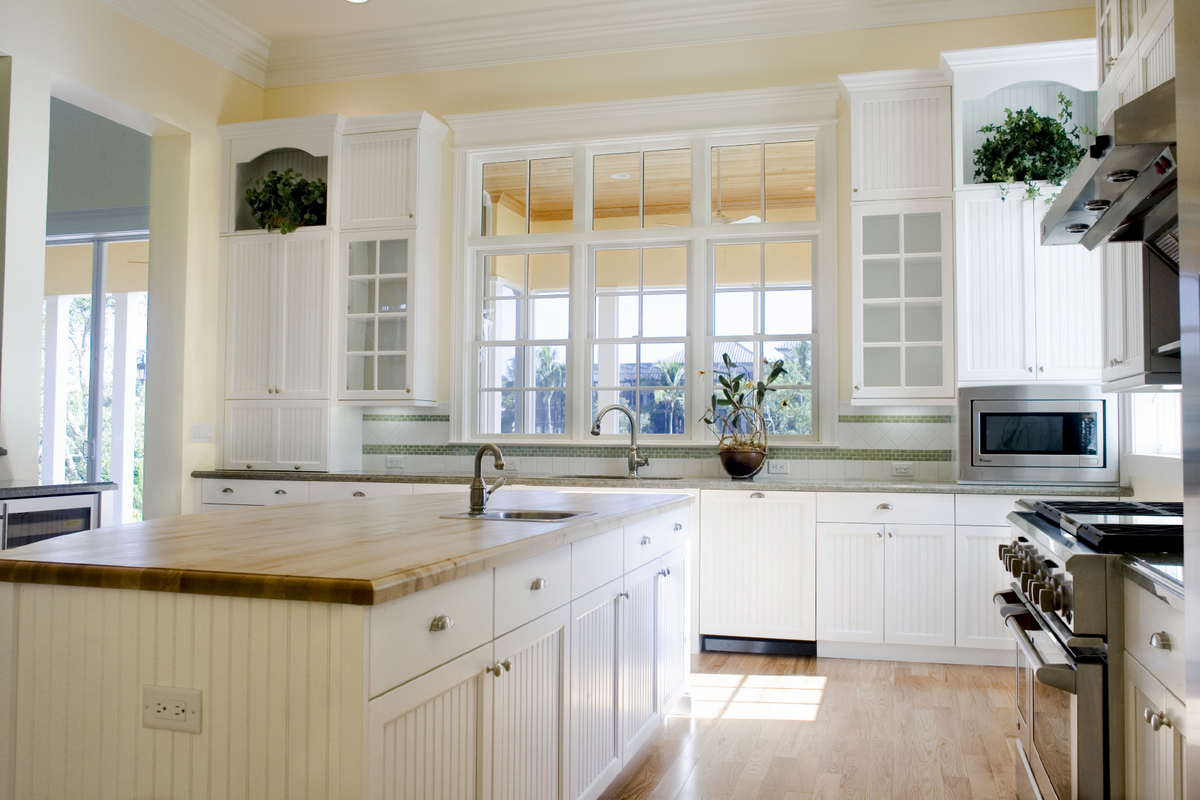 Bright Kitchen Cabinets Bring Natural Light Into Your Kitchen With These Tips