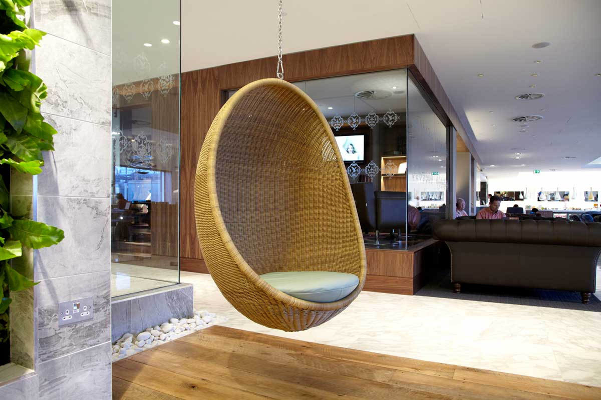 Chairs that Hang from Ceiling: A Way to Have Fun with