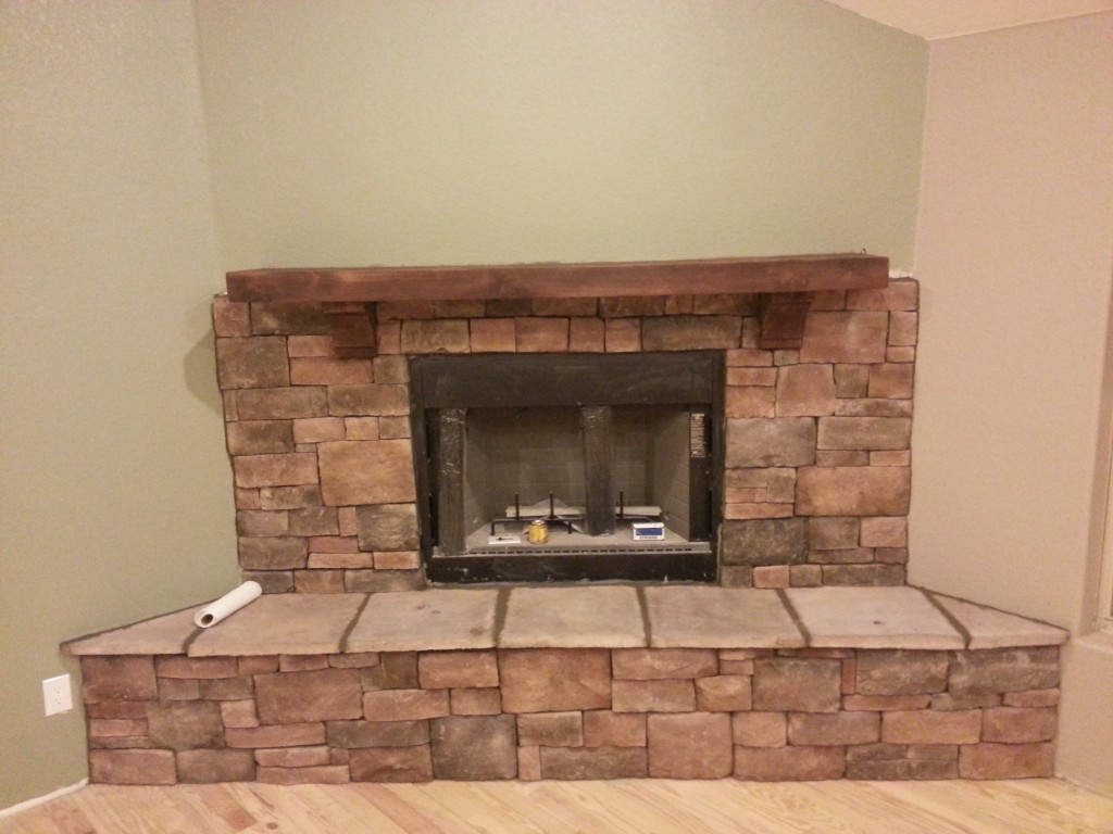 Fireplace Wall Mantels Create A Rustic Style On Your Fireplace With Cedar Mantels
