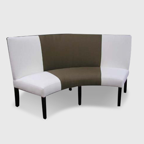 Modern Banquette Seating Wonderful Design of Curved Banquette Seating for Living Room | HomesFeed