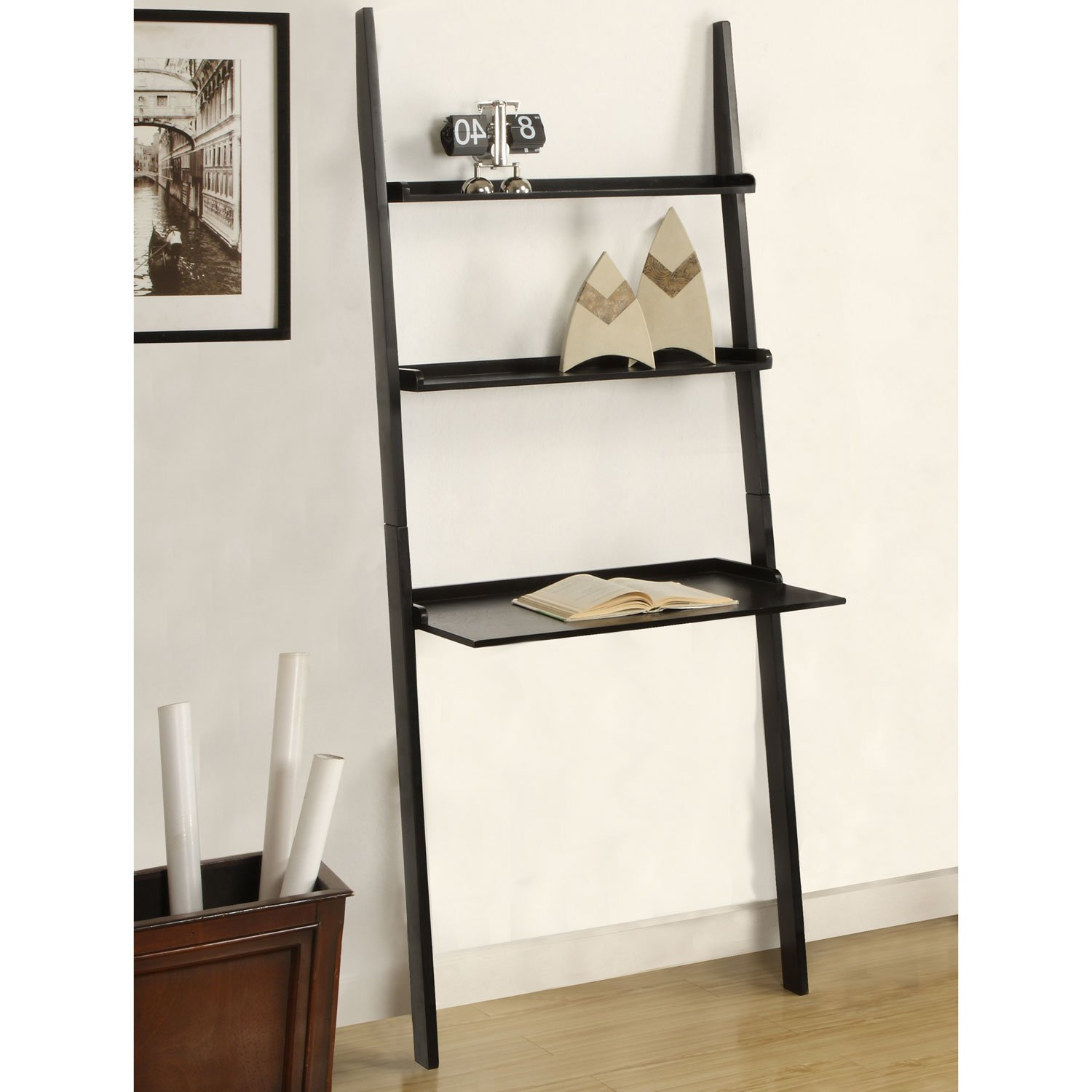 Ikea Study Desk Ladder Desk Ikea: Simple Solution For Workstation As Well