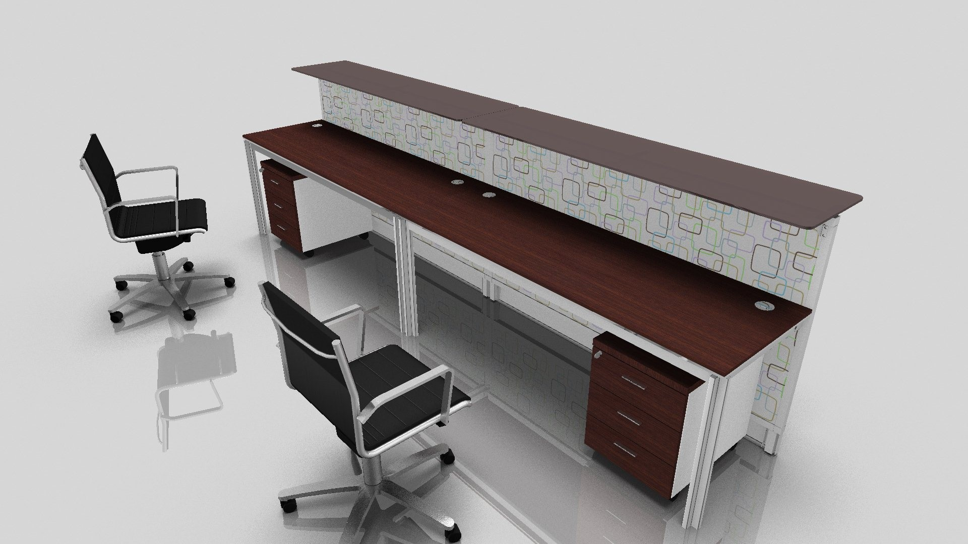 Workstation Furniture 2 Person Desk Design Selections Homesfeed