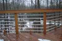 Nice Concept and Design of Horizontal Deck Railing for ...