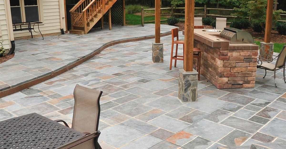 Fabricated Natural Stones Best Choice For Outdoor Flooring Over Concrete Homesfeed