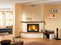 Corner Wood Burning Stove: Functional and Interior ...