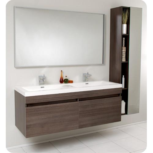 create contemporary with mid bathroom vanity