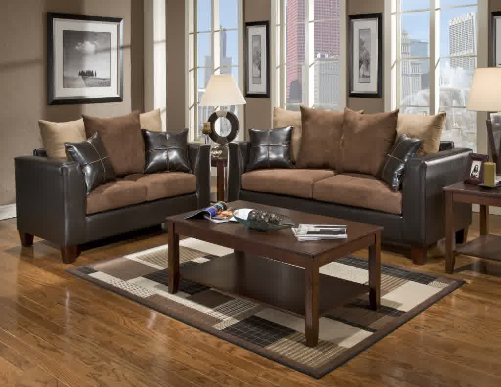 Living Room With Dark Brown Furniture Brown Leather Sofa A Great Piece Of Furniture You Should