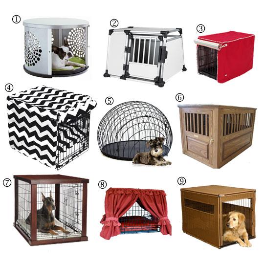 Designer Dog Crate Furniture
