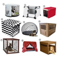 Designer Dog Crate Furniture