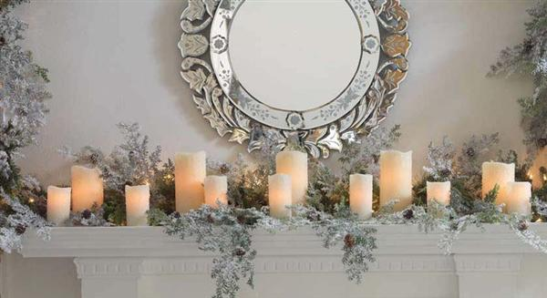 Holiday Fireplace Decorations Images 40 Christmas Fireplace Mantel - christmas fireplace decor
