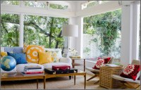 Amazing Various Sun Porches with Furniture Decoration ...