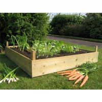 Wood for Raised Beds: A Practical Way of Gardening | HomesFeed