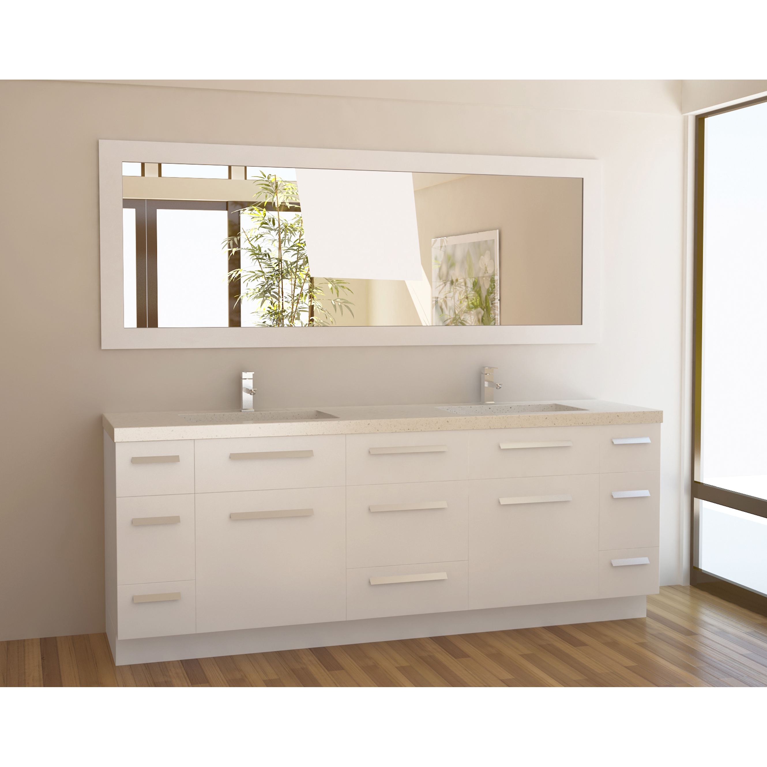 Two Sink Vanities 84 Inch Bathroom Vanity The Variants Homesfeed