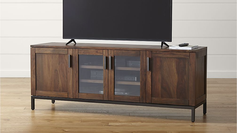 Media Schrank Long Media Console: Make A Stylish Organizer To Your Rooms