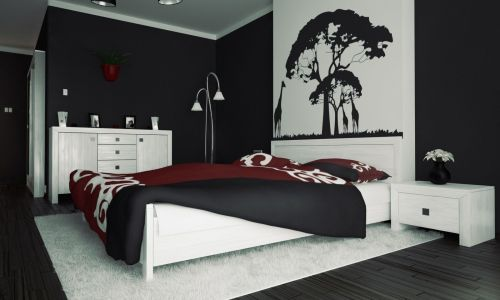 Medium Of Black Bedroom Decorations