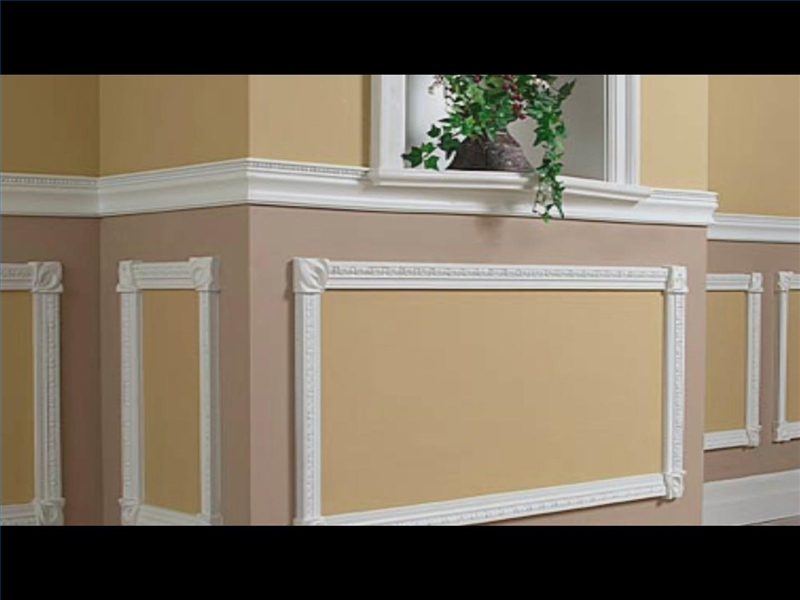 Chair rail moulding ideas table and chair and door