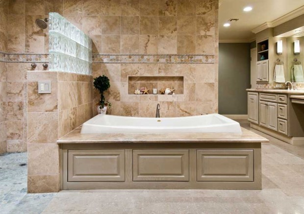transform ordinary bathroom master remodel