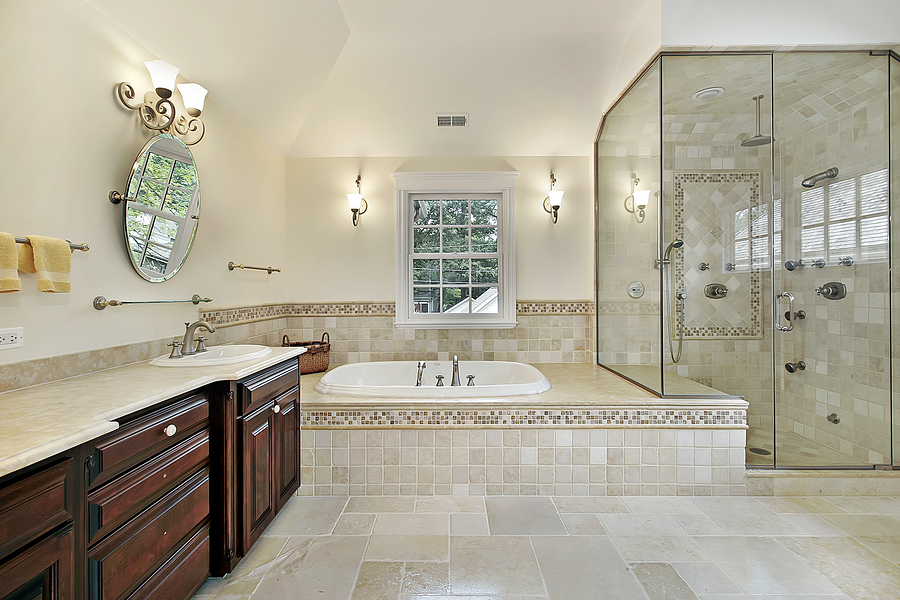 Get An Excellent And A Luxurious Bathroom Outlook By Performing Master Bathroom Remodel Homesfeed