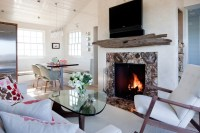 Driftwood Mantle Steals Rustic Appeal from the Past and ...