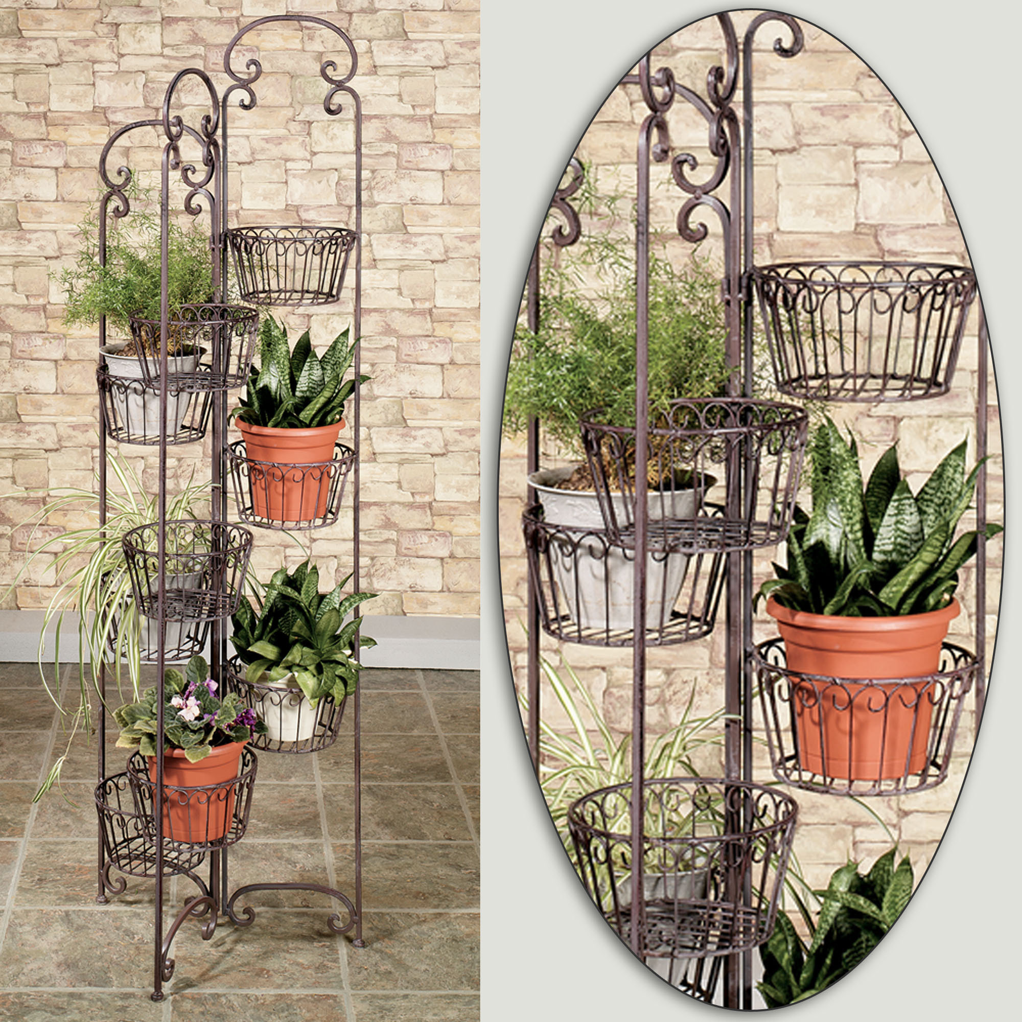 Green Metal Plant Stand Indoor Plant Shelves Insert Natural Appeal Into The Fresh